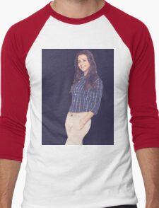 Caterina Scorsone Men's Baseball ¾ T-Shirt