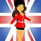British Soldier Girl by SCoffin