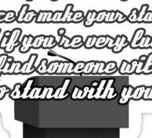 Kate Beckett stand with you Sticker