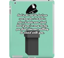Kate Beckett stand with you iPad Case/Skin