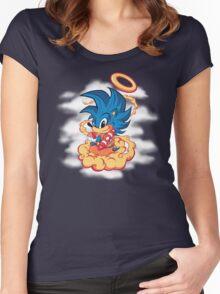 Sonic SaiyaJin Women's Fitted Scoop T-Shirt