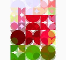 Red Rose Edges Abstract Circles 3 T-Shirt