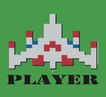 Galaga - Player by FunkeeOne