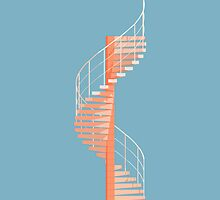 Helical Stairs by Peter Cassidy