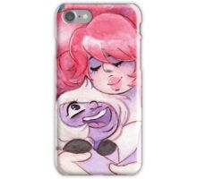 Rose Quartz and Amethyst - Steven Universe: Always There for Me iPhone Case/Skin