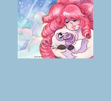 Rose Quartz and Amethyst - Steven Universe: Always There for Me Womens Fitted T-Shirt