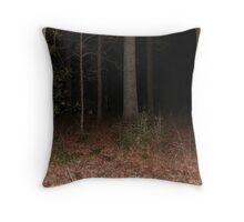 going into the dark forest Throw Pillow