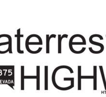 Extraterrestrial Highway Sticker Sticker