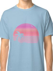 Wiped Out! Sunset Fade Classic T-Shirt