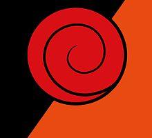 Naruto - Uzumaki clan symbol by Mixposters