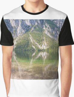 Hillside river reflections Graphic T-Shirt