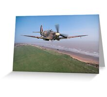 Spitfire Patrol Greeting Card