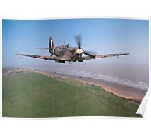 Spitfire Patrol Poster