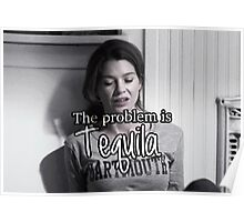 Meredith Grey Tequila Poster