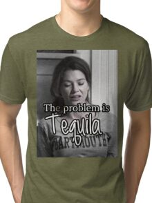 Meredith Grey Tequila Tri-blend T-Shirt
