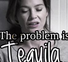 Meredith Grey Tequila Sticker