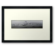 Dambusters rehearse at 'Colchester Lake' Framed Print