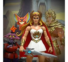 """Masters of the Universe Classics - """"Only a few others share this secret..."""" Photographic Print"""