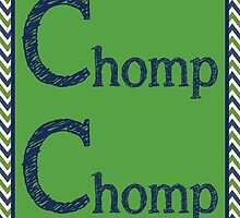 Chomp Chomp Poster by friedmangallery