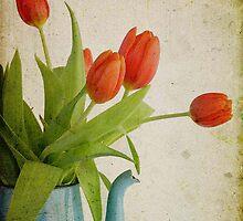 grungy tulips by Kara  Hendricks