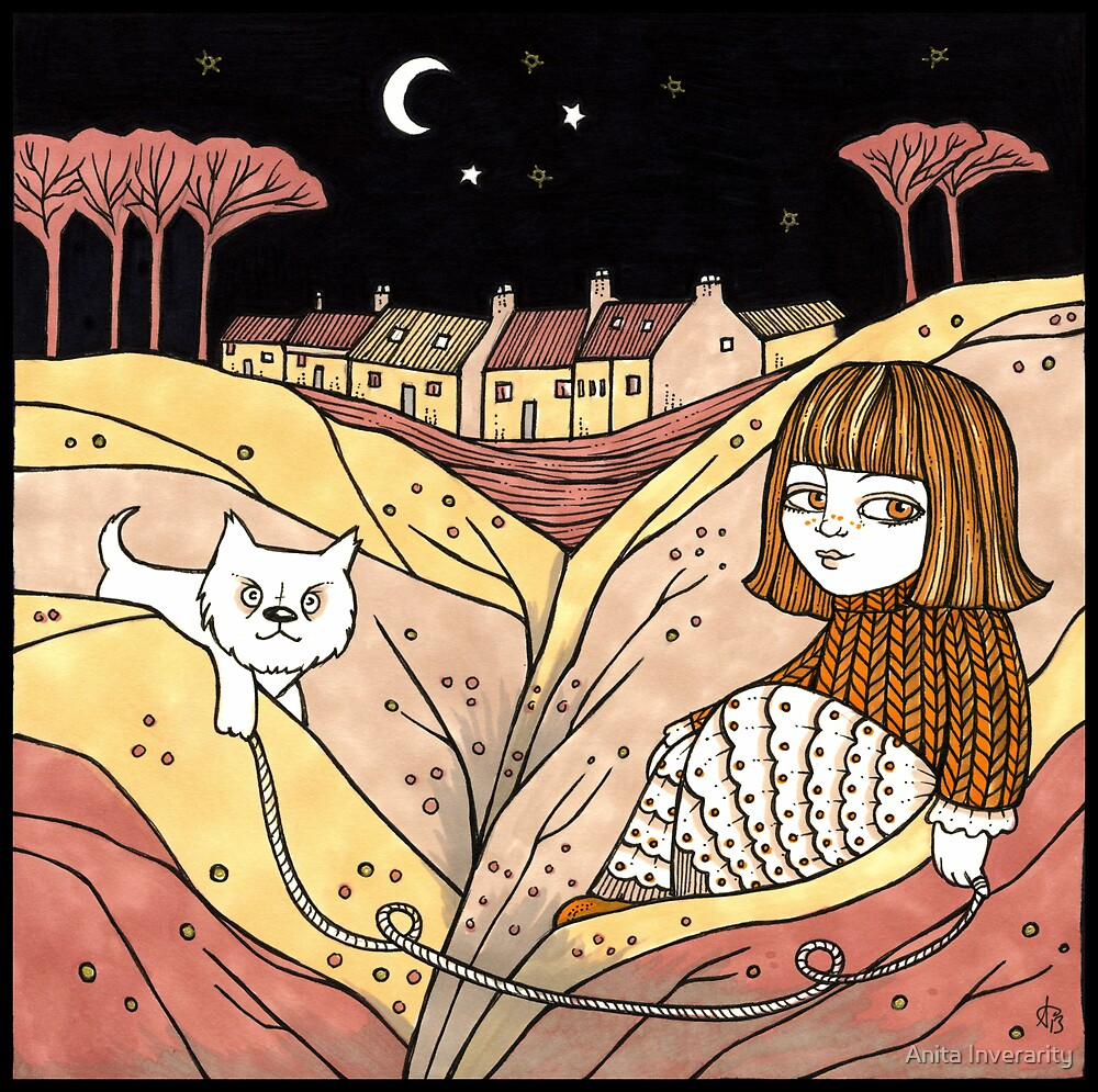 Carin and Colin (Catterline) by Anita Inverarity