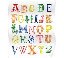 Alphabet Poster Poster