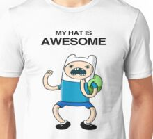 My hat is awesome ! Unisex T-Shirt