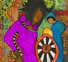 Tribal Trio by © Angela L Walker