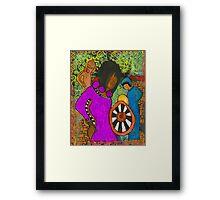 Tribal Trio Framed Print