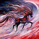 """""""War Horse"""" $400 by Marina Terkulova -Tesch"""