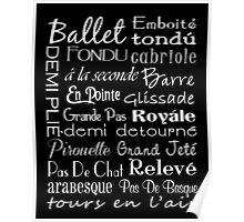 Ballet Subway Art Poster Poster