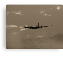 B-29 Bomber Fighter Plane Canvas Print