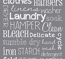 Laundry Room Poster by friedmangallery