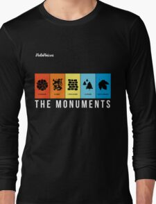 VeloVoices Monuments T-Shirt Long Sleeve T-Shirt