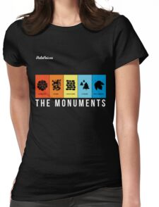 VeloVoices Monuments T-Shirt Womens Fitted T-Shirt
