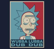 RICK SANCHEZ WUBBA LUBBA DUB DUB by Théo Proupain