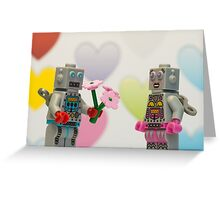 Robot Romance Greeting Card