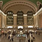 Grand Central Station, New York by Jane M.