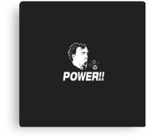Top Gear - Jeremy Clarkson - Power Canvas Print