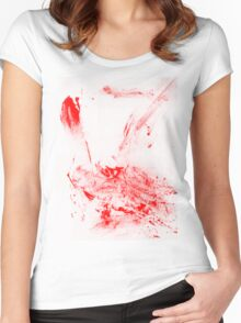 Blood Women's Fitted Scoop T-Shirt