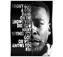 GZA Lyrics Poster