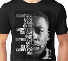GZA Lyrics Unisex T-Shirt