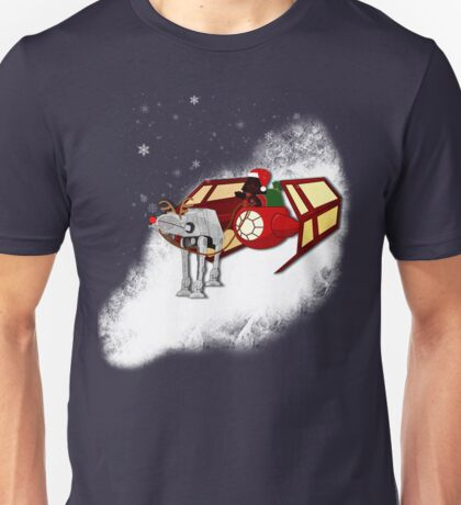 Walking in a Winter Vaderland Unisex T-Shirt