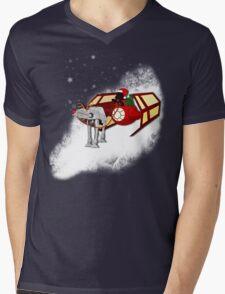 Walking in a Winter Vaderland Mens V-Neck T-Shirt