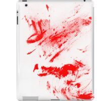 Blood Cover Pad iPad Case/Skin
