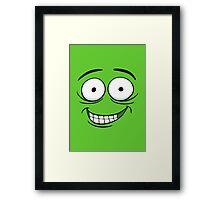 Crazy Grin Framed Print