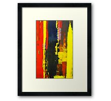 ABSTRACT UNTITLED IV Framed Print