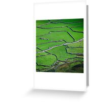 Mosaic, Wasdale Head, Lake District National Park Greeting Card