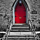 Red Door - selective colour by PhotosByHealy