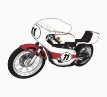 Yamaha Grand Prix 1970s Racer by Anthony Armstrong